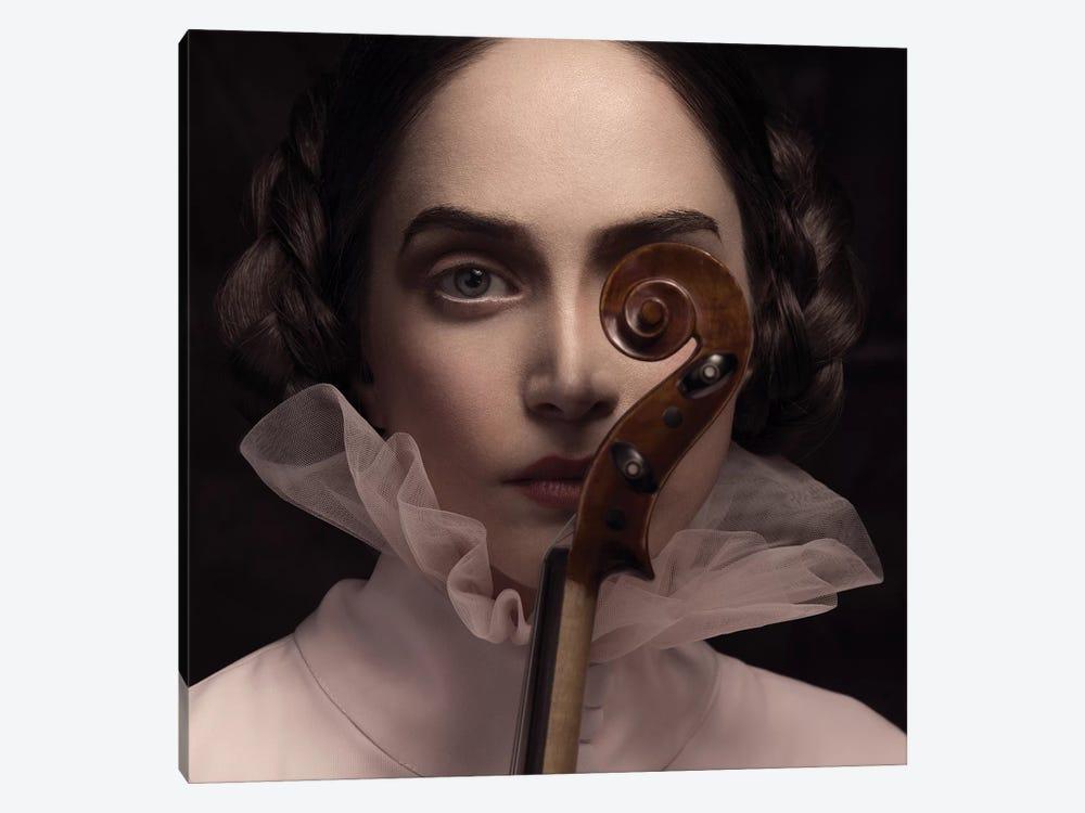The Dark Violinist by Peyman Naderi 1-piece Canvas Art Print