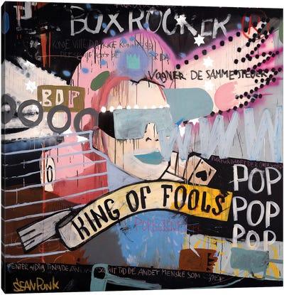 King Of Fools Canvas Art Print