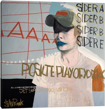 Sider A Canvas Art Print