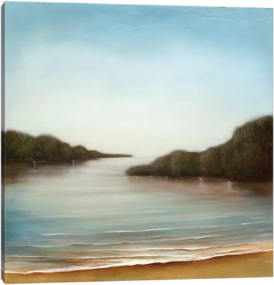 Calm At The Cove Canvas Art Print