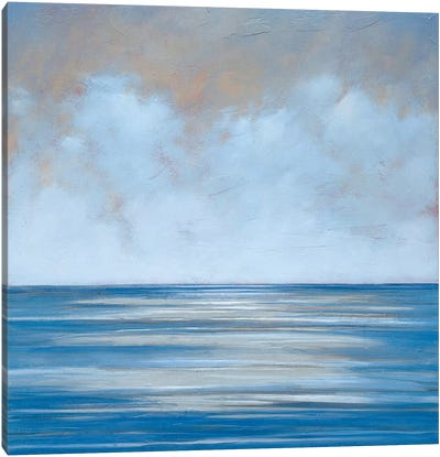 Cerulean Sky Canvas Art Print