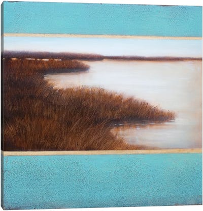 Amber Cove Canvas Art Print