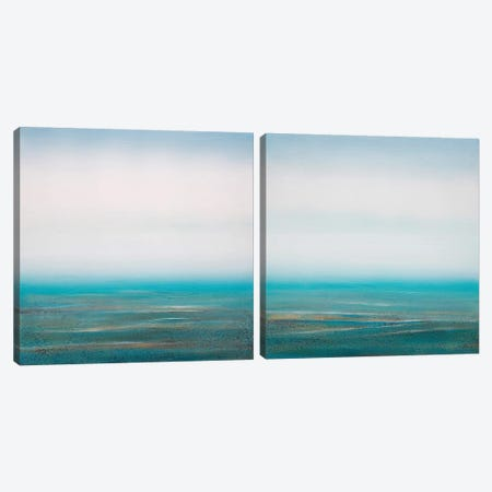Sea Spray Diptych Canvas Print Set #PNO2HSET002} by Sienna Studio Canvas Art