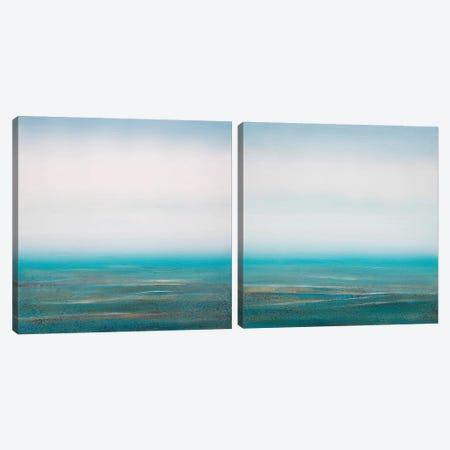 Sea Spray Diptych Canvas Print Set #PNO2HSET002} by Sienna Studio Canvas Art