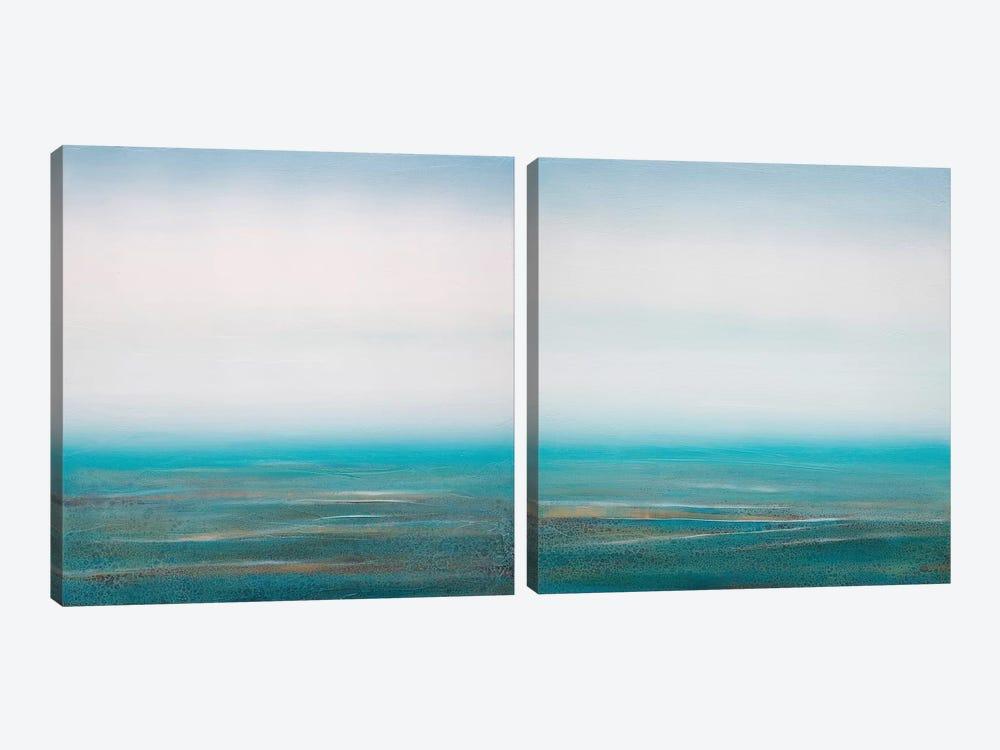 Sea Spray Diptych by Sienna Studio 2-piece Canvas Artwork
