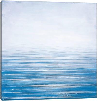 Fog At Dawn Canvas Art Print
