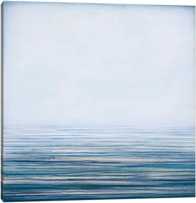 Fog On The Horizon III Canvas Art Print