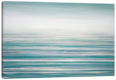 Fog On The Horizon VII Canvas Art Print
