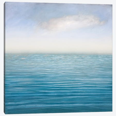Silver Sea Canvas Print #PNO82} by Sienna Studio Canvas Print