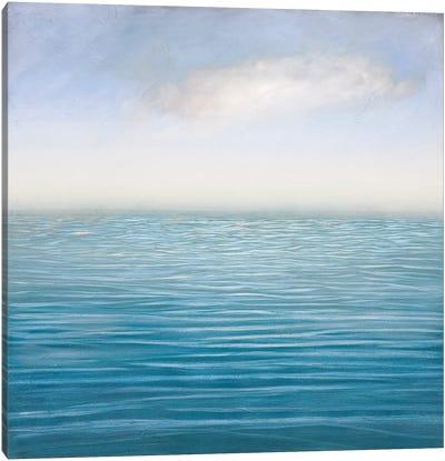 Silver Sea Canvas Art Print