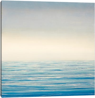 Stillness At Sea Canvas Art Print