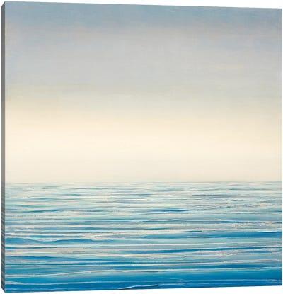 Stillness At Sea Canvas Art Print