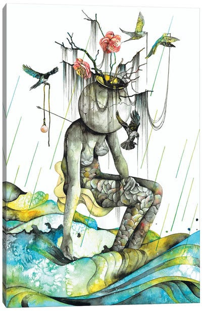 Cleanse II Canvas Art Print
