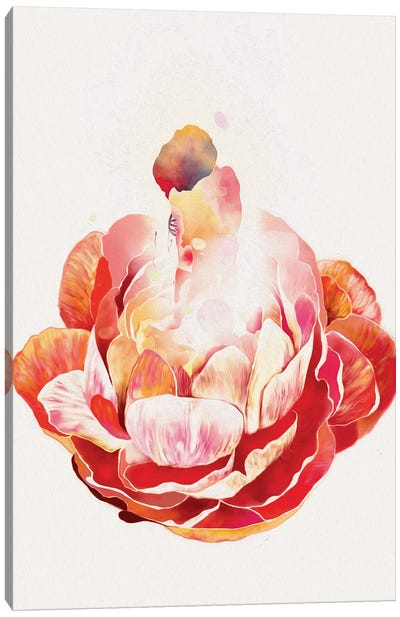A Peaceful Soul Canvas Art Print