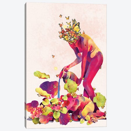Self Care Canvas Print #PNY32} by Pride Nyasha Canvas Wall Art