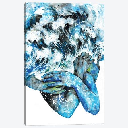 A Transient Tide Canvas Print #PNY3} by Pride Nyasha Canvas Artwork