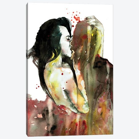 Devour Me Canvas Print #PNY44} by Pride Nyasha Canvas Wall Art