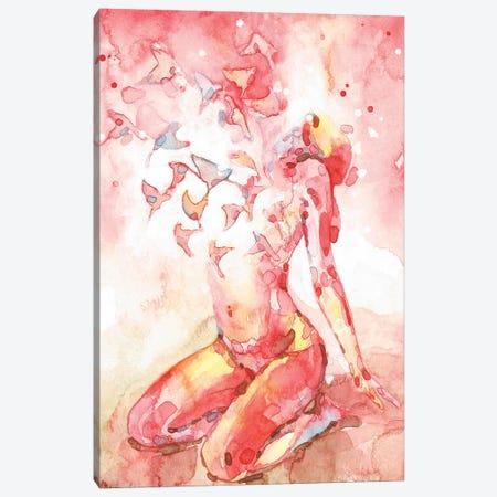 Breathe V Canvas Print #PNY7} by Pride Nyasha Canvas Print