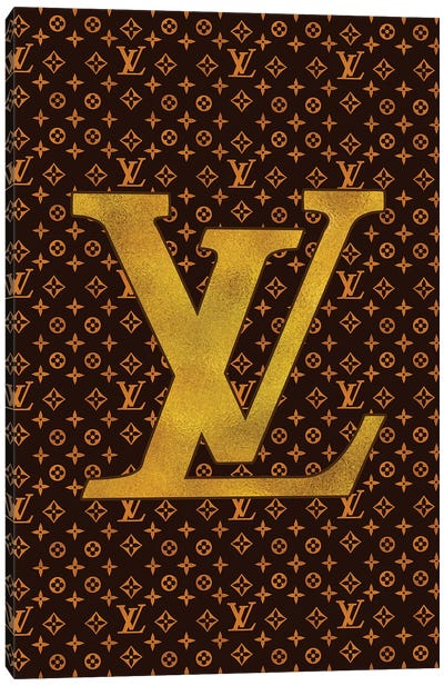 LV Fashion III Canvas Art Print