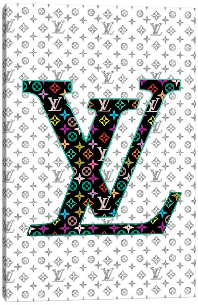 LV Fashion IV Canvas Art Print