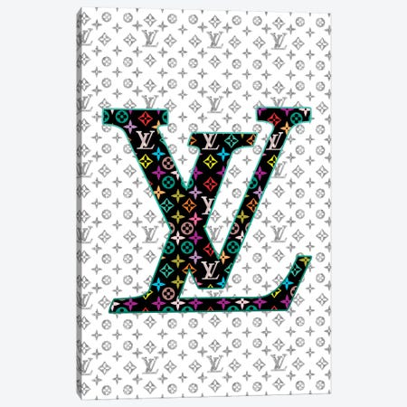 LV Fashion IV Canvas Print #POB116} by Pomaikai Barron Canvas Art Print