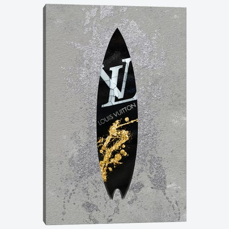 LV Surfboard _2 Canvas Print #POB121} by Pomaikai Barron Canvas Art Print