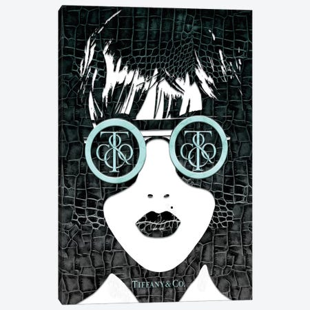 Tiff Fashion Face (3) Canvas Print #POB181} by Pomaikai Barron Art Print