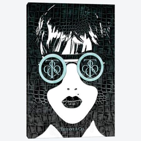 Tiff Fashion Face (3) Canvas Print #POB181} by Pomaikai Barron Art Print