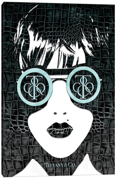 Tiff Fashion Face (3) Canvas Art Print