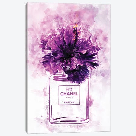 Wild My Plum N05 Canvas Print #POB201} by Pomaikai Barron Canvas Artwork