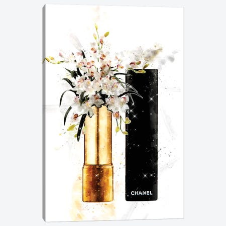 Wild White Canvas Print #POB202} by Pomaikai Barron Canvas Artwork