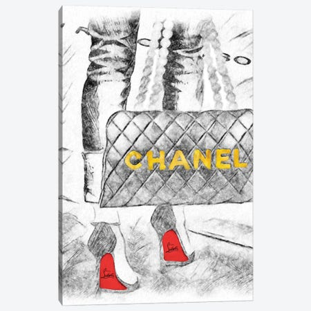 31 Rue Chambon Canvas Print #POB218} by Pomaikai Barron Canvas Print