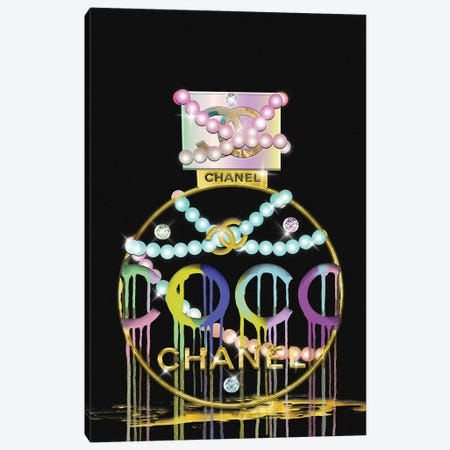 Diamonds Pearls and Perfume Canvas Print #POB221} by Pomaikai Barron Canvas Wall Art