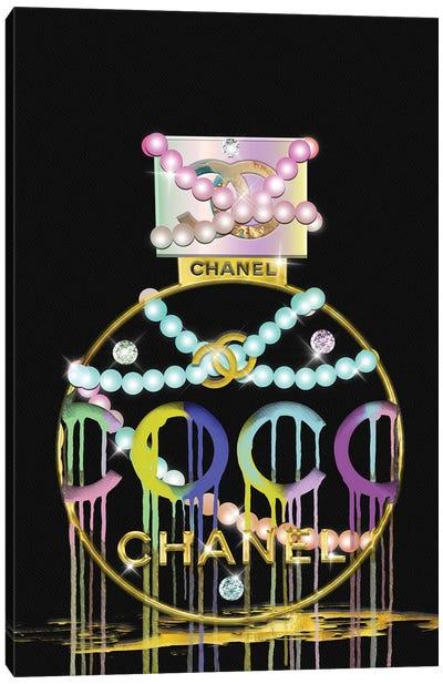 Diamonds Pearls and Perfume Canvas Art Print