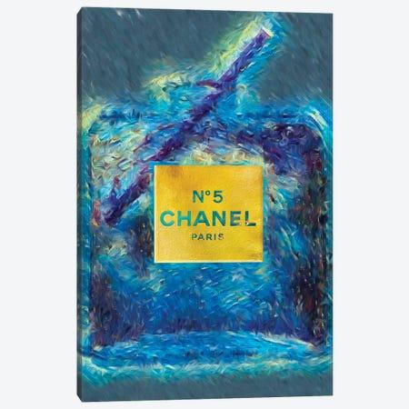 No 5 Fashion Champange Canvas Print #POB227} by Pomaikai Barron Canvas Art Print
