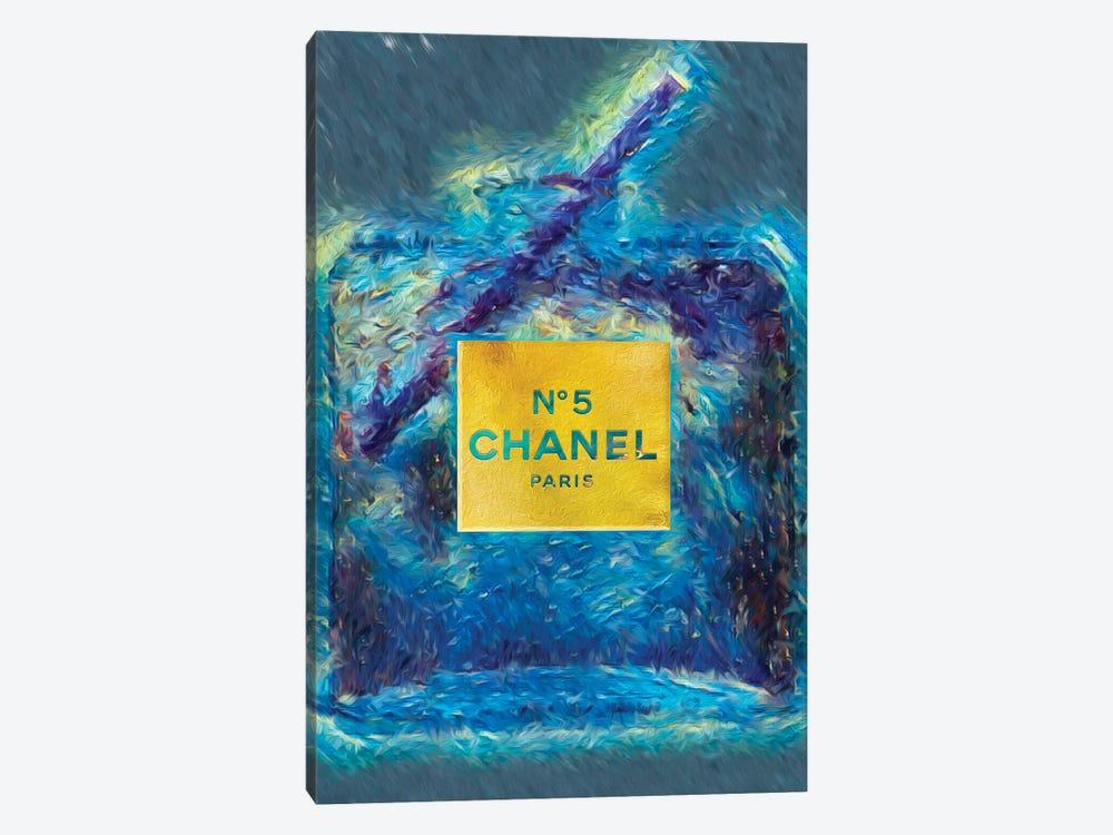 No 5 Fashion Champange by Pomaikai Barron 1-piece Canvas Art