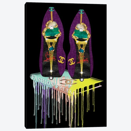 High Heel Freak! Canvas Print #POB230} by Pomaikai Barron Art Print