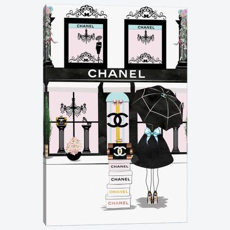 You Can Never Have Enough Chanel Canvas Print #POB240} by Pomaikai Barron Canvas Art