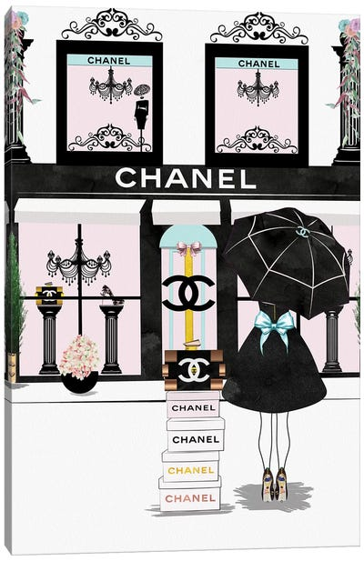 You Can Never Have Enough Chanel Canvas Art Print