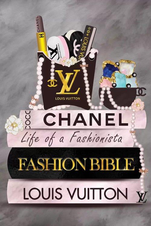 Life Of A Fashionista Fashion Book Stack Can Pomaikai Barron Icanvas