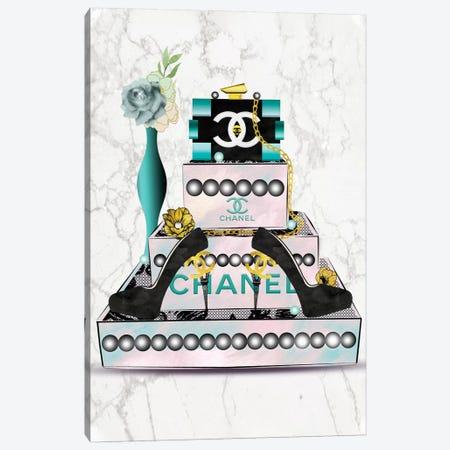 Fashion Jewelry Box, Lego Clutch And High Heels Canvas Print #POB250} by Pomaikai Barron Canvas Art Print