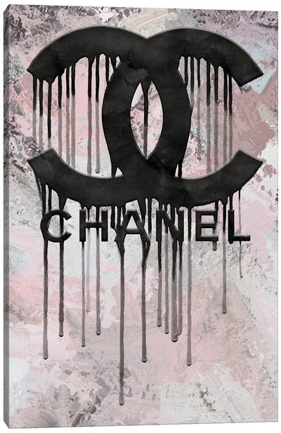 Grunged And Dripping CC Canvas Art Print