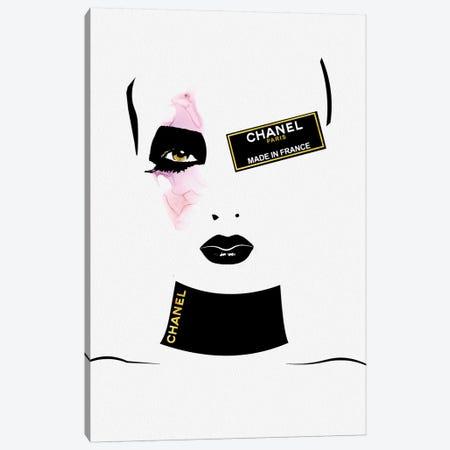 Fashion Freak Fianna Canvas Print #POB263} by Pomaikai Barron Canvas Art