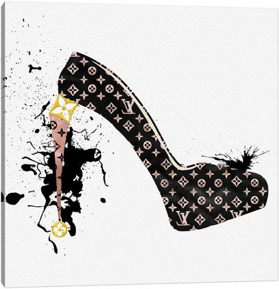 It's All About The Heels Canvas Art Print