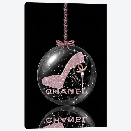 Oh, My Chanel Glitter Ball II Canvas Print #POB271} by Pomaikai Barron Art Print