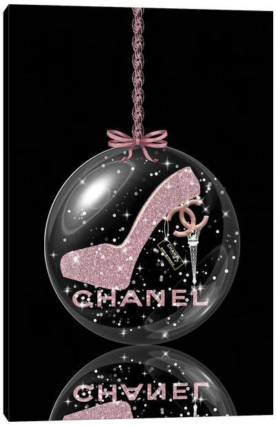 Oh, My Chanel Glitter Ball II Canvas Art Print