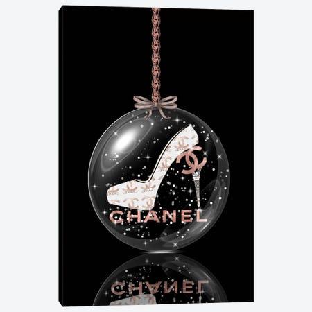 Oh, My Chanel Glitter Ball III Canvas Print #POB272} by Pomaikai Barron Canvas Print