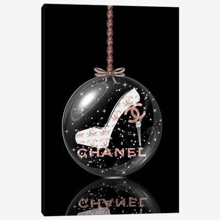 Oh, My Chanel Glitter Ball III Canvas Print #POB272} by Pomaikai Barron Canvas Print