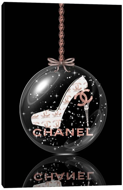Oh, My Chanel Glitter Ball III Canvas Art Print