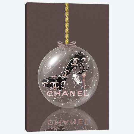 Oh, My Chanel Glitter Ball Canvas Print #POB273} by Pomaikai Barron Canvas Print